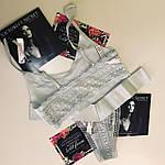 Комплект белья женского Victorias Secret топ и трусики Виктория Сикрет, фото 3