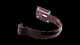 Тримач жолоба Profil Д=130мм метал короткий, колір коричневий