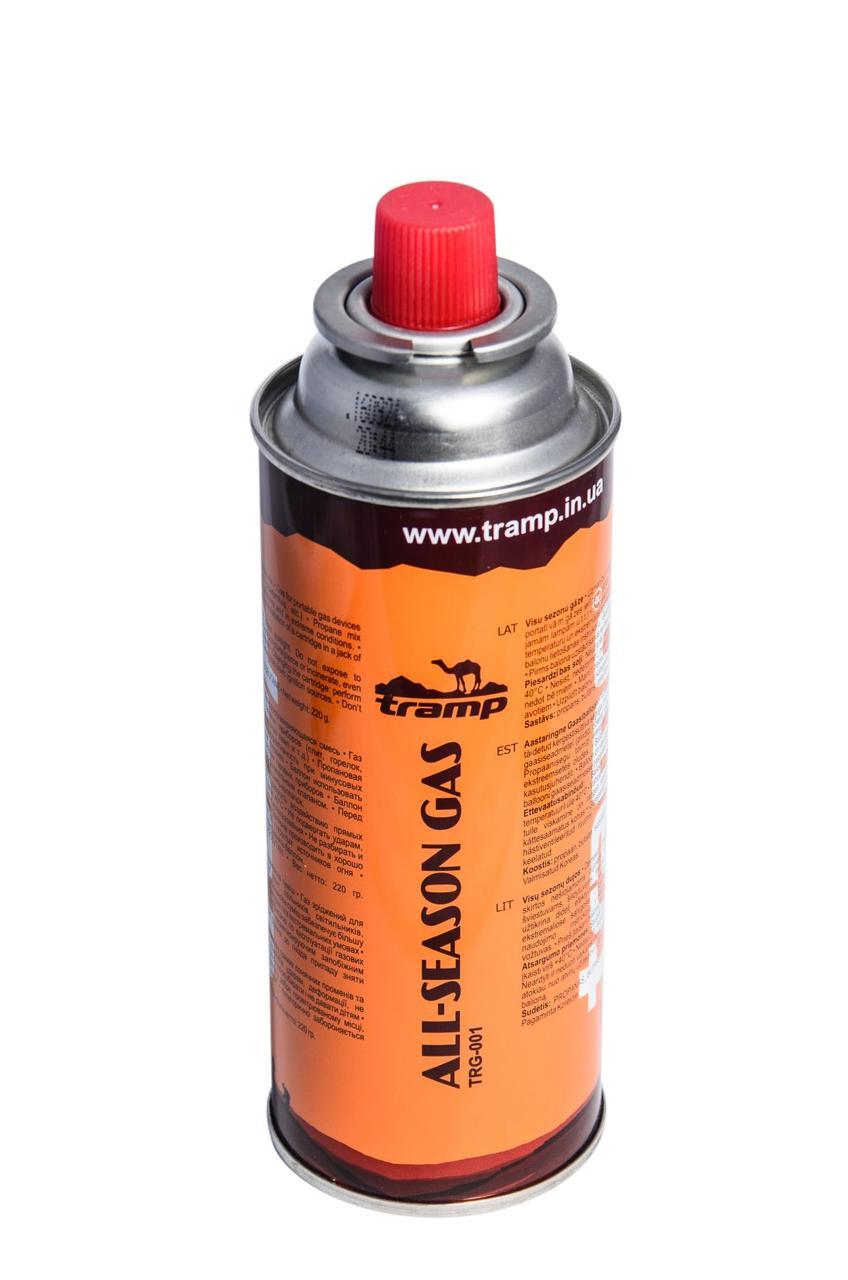 Газовый баллон Tramp 220 грам (цанговий) TRG-001