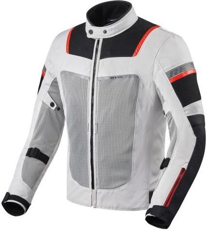Мотокуртка текстильная Revit Tornado 3 серый/черный, L