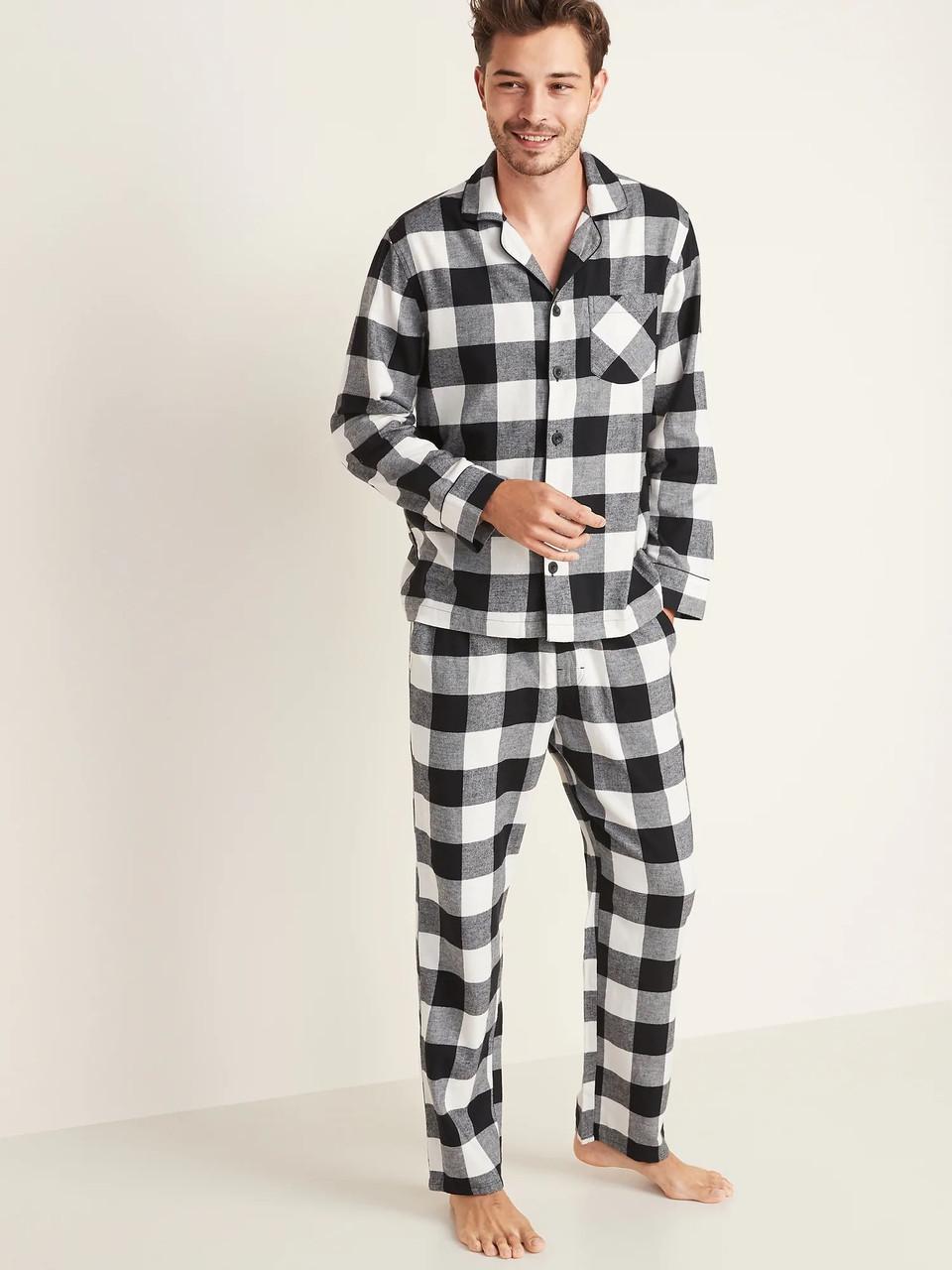 Мужская фланелевая пижама Old Navy XXL XXXL пижамы мужские Олд Неви XXL
