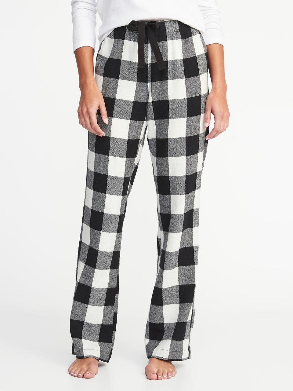 Женские штаны фланелевые XS M пижама домашние Old Navy США XS