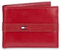 Кожаный кошелек мужской Tommy Hilfiger оригинал брендовый портмоне бумажник