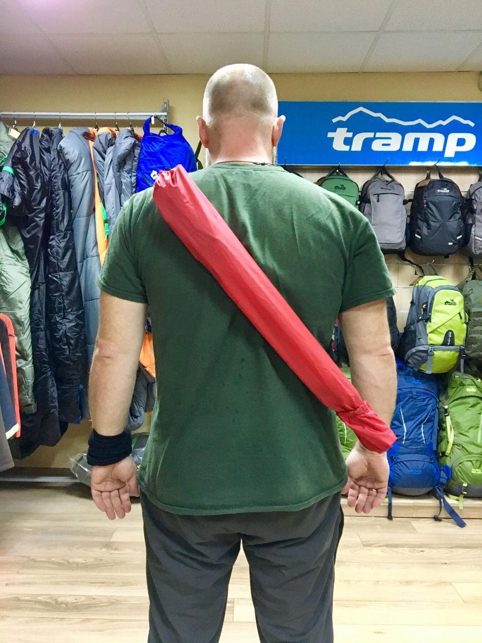 Чехол для скандинавских палок Tramp NW Cover 73 см красный