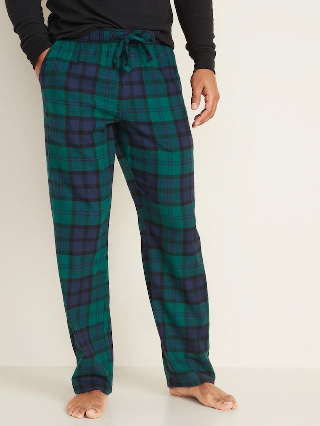 Мужские фланелевые штаны Old Navy США пижама домашние S