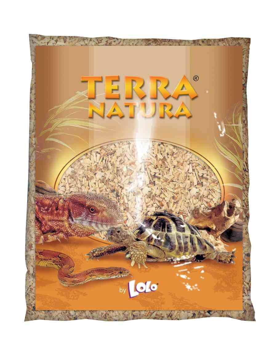 Terra Natura наповнювач буковий для тераріумів S, 4л Lolopets