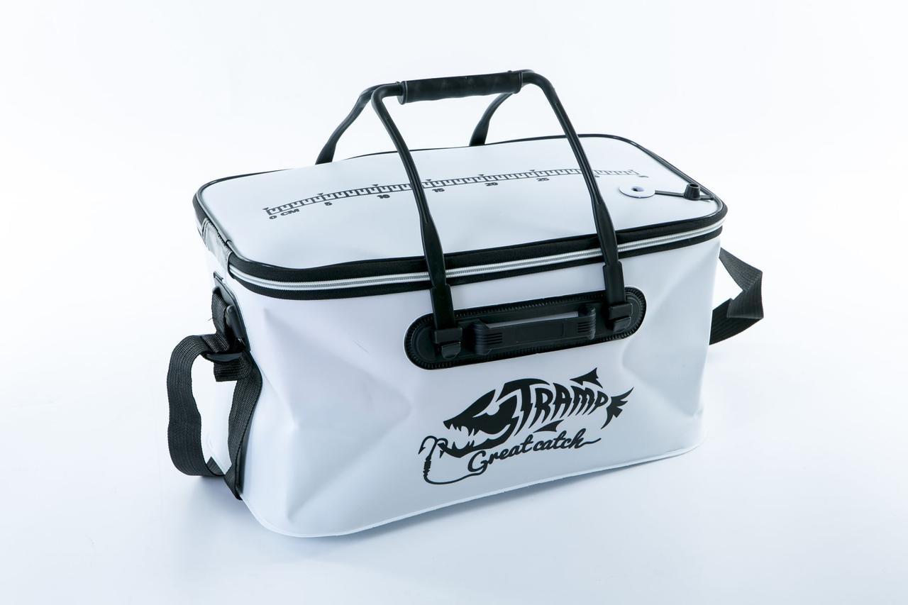 Сумка рыбацкая Tramp Fishing bag EVA White - M