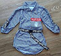 Детская рубашка на девочку BILLIE EILISH и Likee Tik Tok, фото 1