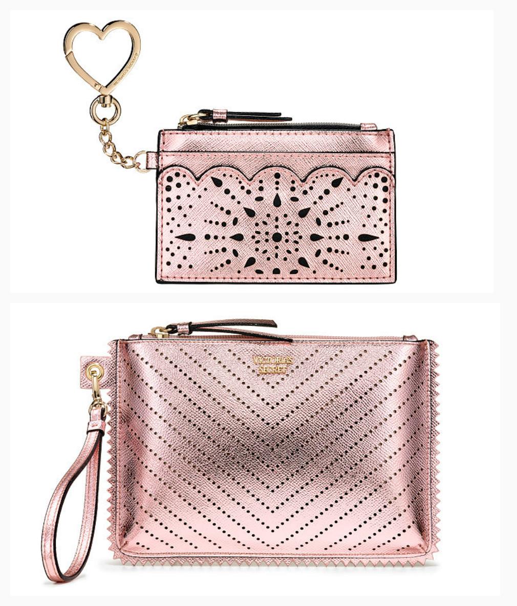 Набор клатч и мини кошелек Victorias Secret сумочка и кардхолдер оригинал