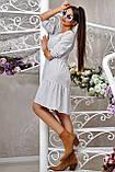 Повсякденне плаття ніжне асиметричне трапеція (6 кольорів, р. S-XL), фото 6