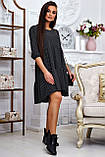 Повсякденне плаття ніжне асиметричне трапеція (6 кольорів, р. S-XL), фото 10