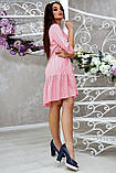 Повсякденне плаття ніжне асиметричне трапеція (6 кольорів, р. S-XL), фото 9