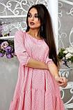 Повсякденне плаття ніжне асиметричне трапеція (6 кольорів, р. S-XL), фото 8