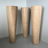 Деревянная мебельная ножка, мебельная опора Дуб 200 мм