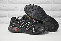 Мужские черные кроссовки Ax-Boxing в стиле Salomon