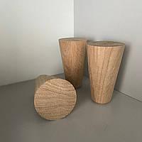 Деревяннае меблева ніжка, меблева опора Дуб 100 мм, фото 1