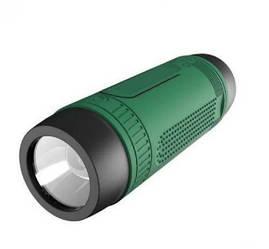 Беспроводная колонка Zealot S1 Bluetooth Фонарик Радио (Зеленый)