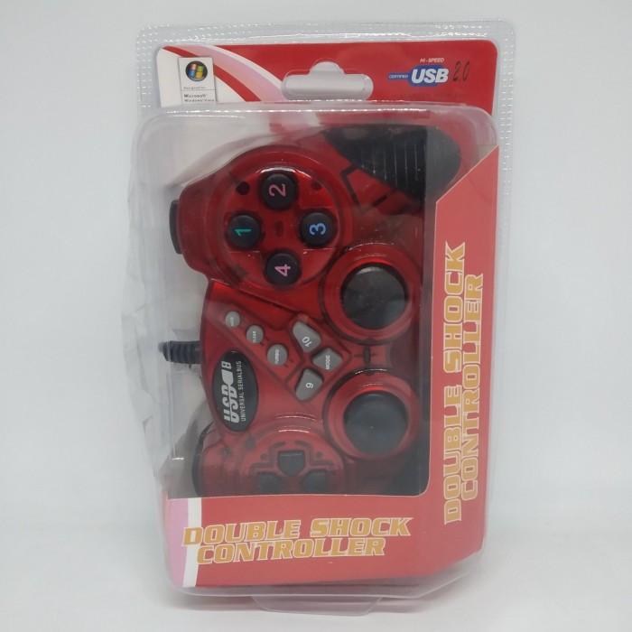 Игровой манипулятор TURBO USB GAMEPAD DJ-906 джойстик для ПК Красный