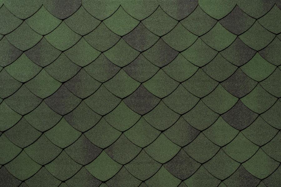 Бітумна черепиця Tegola Premium Versaille Зелений смеральдо