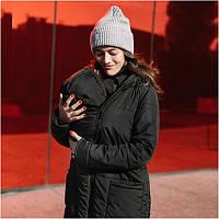 Зимняя слингокуртка LOVE & CARRY 3 в 1 (размер 34, чёрный), фото 1