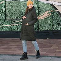 Зимняя слингокуртка LOVE & CARRY 3 в 1 (размер 34, оливковый), фото 1