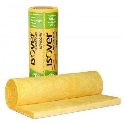 Isover Изоляция Сауна 50 мм Плотность 13,2 кг/м3, площадь единицы 15 м2