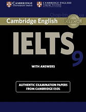 Cambridge English: IELTS 9 Authentic Examination Papers from Cambridge ESOL with answers