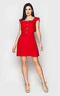 Легкое повседневное платье (красное) Santali Украина L романтический