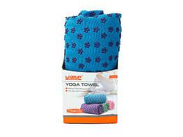 Рушник для йоги LiveUp YOGA TOWEL