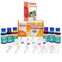 Набор перезаправляемых картриджей WWM для HP PS 8230/8238 №177 (RC.HP177A)