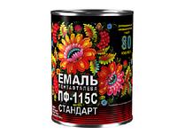 Эмаль ПФ-115 Спектр черный 2.8 кг
