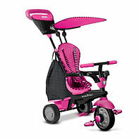 Велосипед Glow 4 в 1, розовый, Smart Trike (уценка)