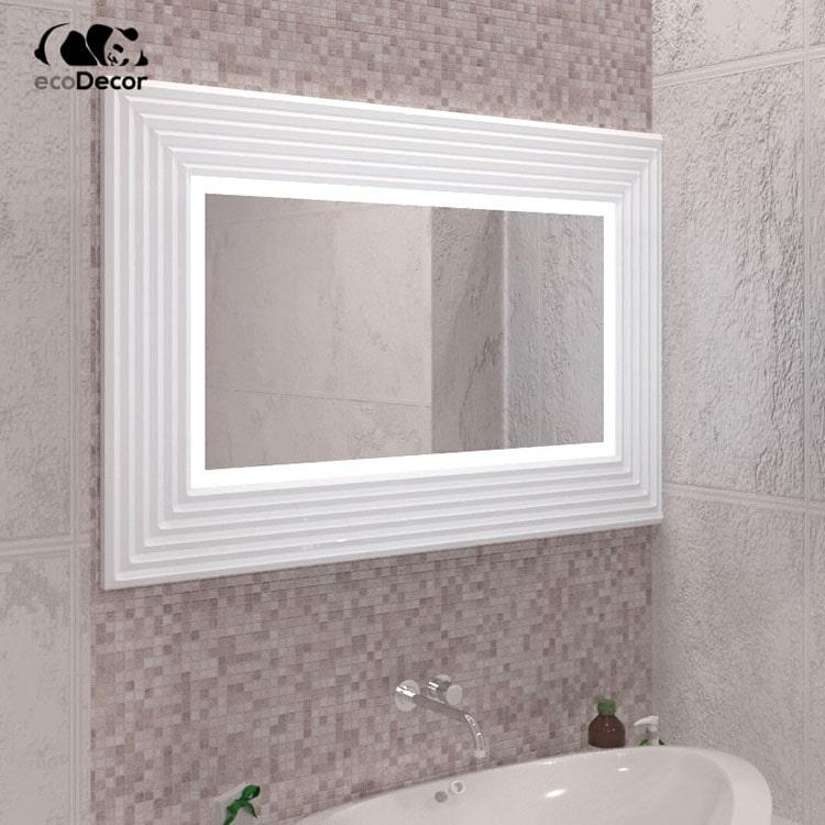 Зеркало с подсветкой белое Alanno