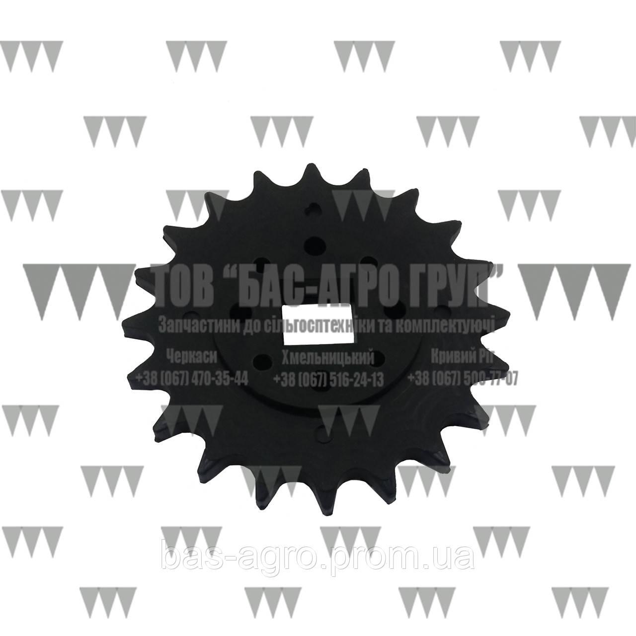 Звездочка Z-20 пластик Gaspardo G66248165 аналог