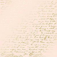Папір з фольгуванням - Golden Text Beige - Fabrika Decoru  - 30x30