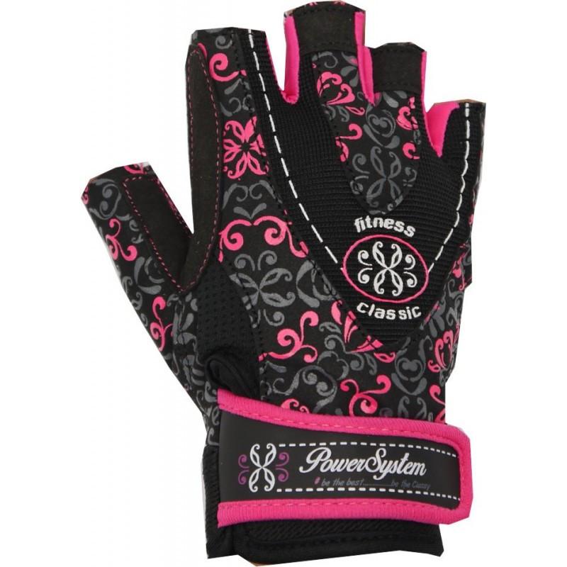 Перчатки для фитнеса и тяжелой атлетики Power System Classy Женские PS-2910 Pink S SKL24-145703