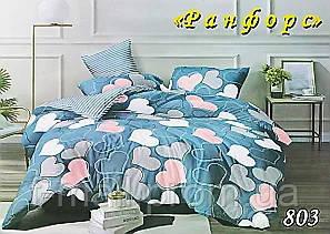 Комплект постельного белья Тет-А-Тет (Украина) полуторный  ранфорс (803)