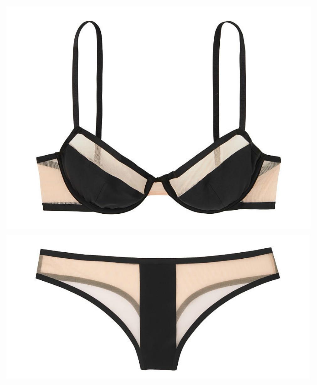 Комплект белья лиф и трусики Victorias Secret оригинал Виктория Сикрет 34C