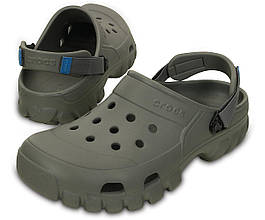 Кроксы мужские Crocs Крокс сабо клоги оригинал США серые