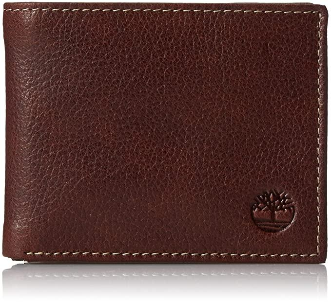 Timberland США. Кожаный мужской унисекс кошелек портмоне. Оригинал