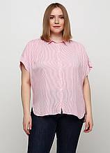 Комбинированная в полоску блузка H&M летняя