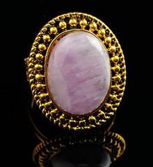 Красивое    большое    кольцо с   Аметистом  (натуральным)   (безразмерное)