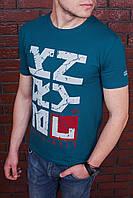 Футболка мужская с принтом зеленая. Мужская футболка с коротким рукавом. Футболка летняя. Чоловіча футболка