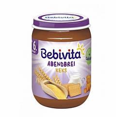 Молочная каша Спокойной ночи,с печеньем Bebivita(Бебивита) с 6 месяцев,190 г
