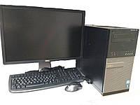 Компьютер в сборе, Core i7-2600, 4 ядра по 3.40 ГГц, 16 Гб ОЗУ DDR3, HDD 500 Гб, Видеокарта 4 Гб, мон 24 дюйма, фото 1