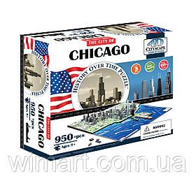 """Объемный пазл 4D """"Чикаго, США"""" (40014)"""