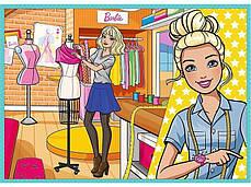 Пазл 4 в 1 Trefl Барбі (Barbie), фото 3