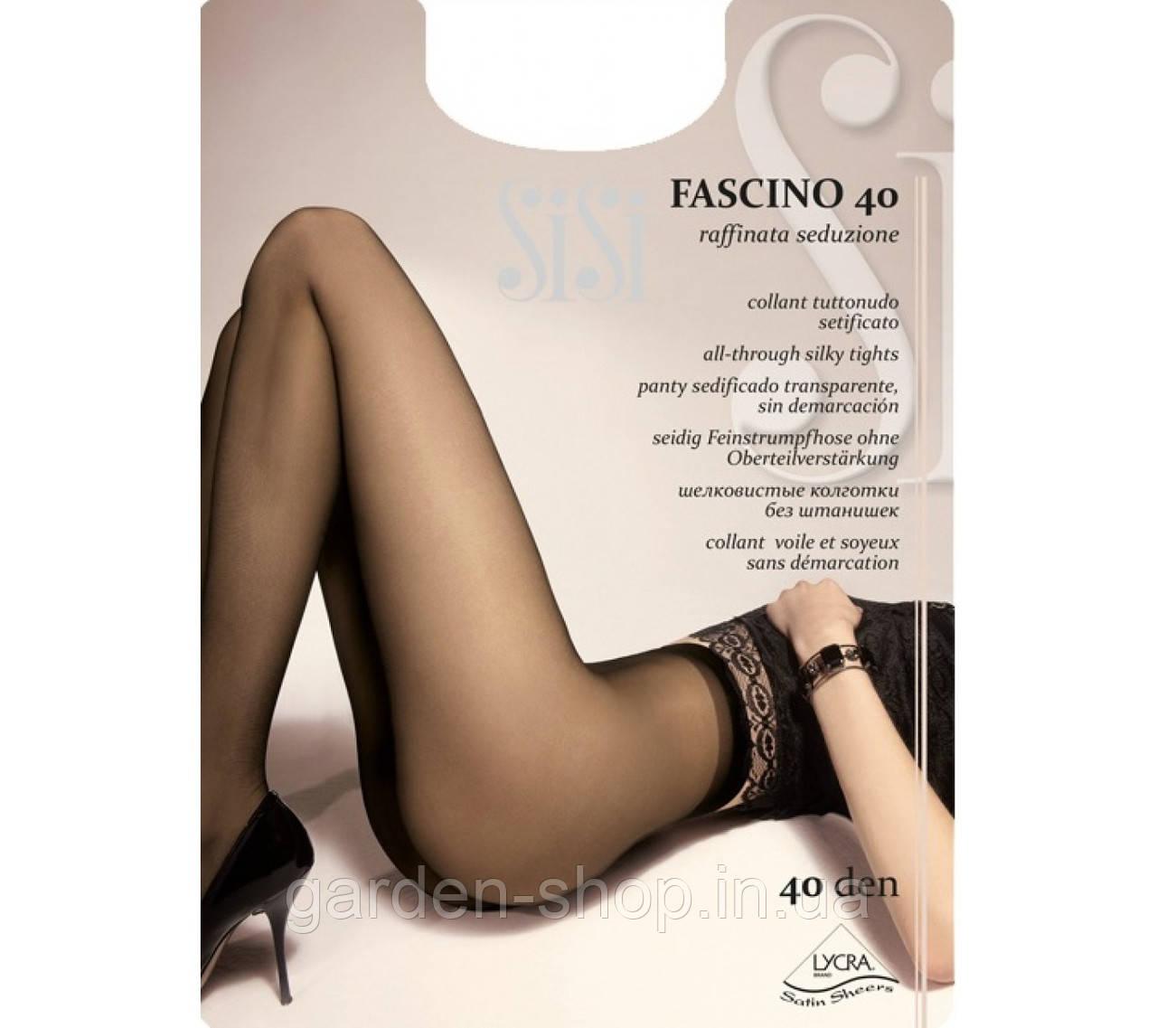 Колготи SiSi Fascino 40 dan беж трусиків 3-M