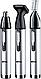 Триммер для бороды,носа и ушей Gemei GM-3107, фото 3