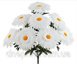 """Букет искусственный """"Ромашки крупные"""" 7 цветков, 15-16 см, 48 см"""